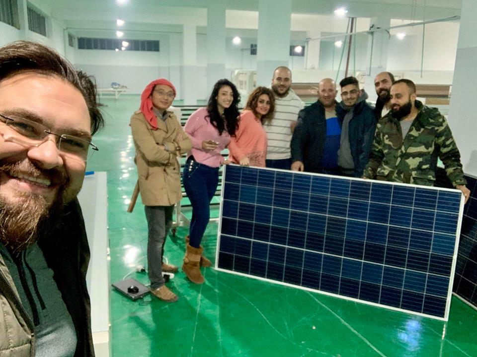 60MW full automatic solar panel production line in Hassia Homs Syria