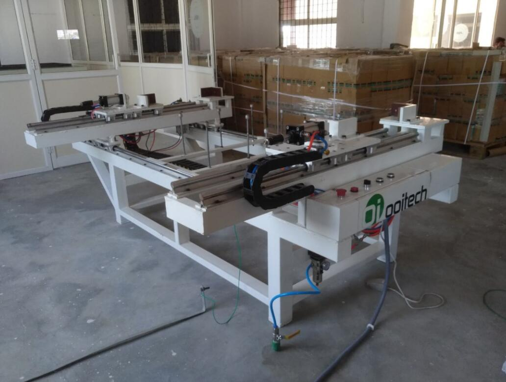 solar panel framing machines